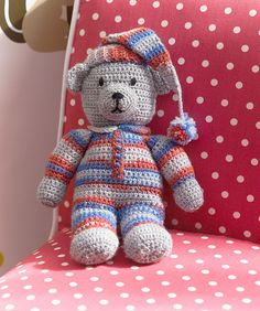 Ravelry: Sweet Dreams Teddy pattern by Michele Wilcox - UK terms