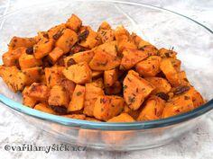 Pečené batáty Sweet Potato, Detox, Potatoes, Vegetarian, Vegetables, Fit, Potato, Vegetable Recipes