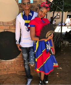 We have the latest Swazi Dress designs from various designers in South African and Swaziland. The Latest Swazi Traditional Attire in South African. African Wedding Attire, African Attire, African Wear, African Fashion Dresses, African Women, African Dress, African Weddings, Africa Fashion, Ethnic Fashion