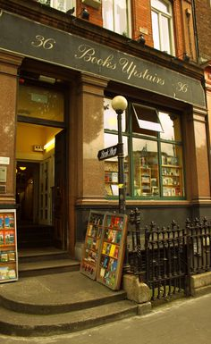 Book shop in College green, Dublin: Books Upstairs Ltd. 36 College Green, Dublin, Ireland.  Support your local bookstore!