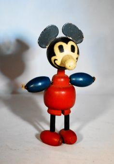 Vintage Mickey Mouse Figurine