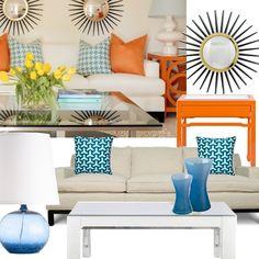 refreshing living room  #furniture #decor
