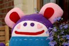 Peekaboo doll detail by by BORA, via Flickr
