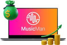 MusicMan - A.I. Software Auto-Creates Original & Unique Premium Music Tracks