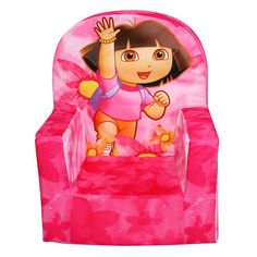 from toysrus.com · High Back Chair - Dora - Spin Master - $34.98  sc 1 st  Pinterest & 59 best Toys Ru0027 Us Childrenu0027s Chairs images on Pinterest | Children ...