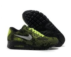 premium selection c0d27 43e98 Mens Nike Air Max 90 Carved Black Green 6809331-447