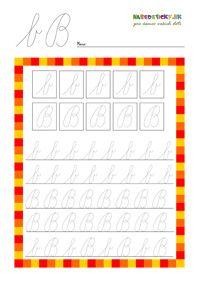 Písané písmenká pre začiatočníkov - séria pracovných listov - Nasedeticky.sk Pre Writing, Writing Activities, Diagram, Education, Math, Learning, School, Math Resources, Studying