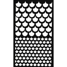 1000 images about coming right up on pinterest stencils for Fish scale stencil