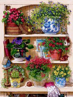 Wonderful Ribbon Embroidery Flowers by Hand Ideas. Enchanting Ribbon Embroidery Flowers by Hand Ideas. Art Floral, Motif Floral, Cross Paintings, Original Paintings, Oil Paintings, Graffiti Kunst, Mosaic Pictures, Silk Ribbon Embroidery, Embroidery Kits