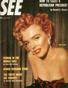 Marilyn Monroe - See. July, 1952