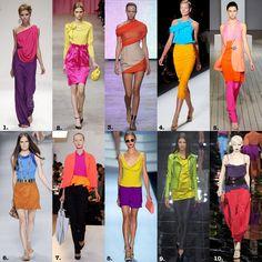 replay colour blocking fashion