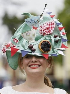 From A Google Search For Crazy Hats Lots Of Found Objects Which Wouldn