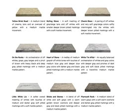 MARBLE & STONE COLLECTION COLORS. DIY Countertop Kit