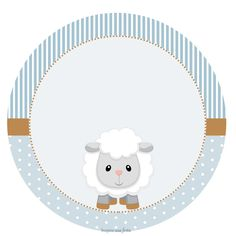 Little Sheep Boys - Free Party Kit to Print - Party Kit, Baby Party, Imprimibles Baby Shower, Scrapbook Bebe, Eid Stickers, Eid Crafts, Baby Shower Niño, Baby Lamb, Boy Baptism