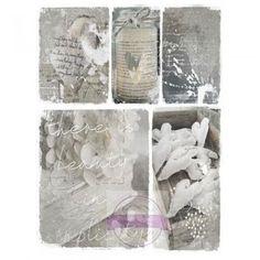 OBRAZY | Obraz na lněném plátně 30x40cm | Vintage bytové doplňky a dekorace styl provence, retro a rustikální doplňky