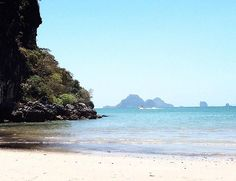 Islands in front of Nopparat Thara Beach Krabi Thailand #island #mountain #sea #ocean #sand #beach #sky #skyscape #blue #krabi #thailand #vscocam #outdoors #explore #adventure #vscotravels #vscotravel #view #wanderlust #holiday #holidays #travel #travels #beautiful #pretty #travelbug #vscogood #stunning #amazing #instatravel by tonkae