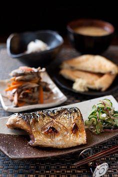 焼き魚の添えものの工夫