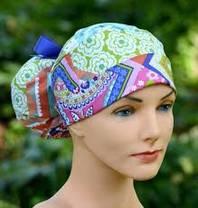 Image result for ponytail surgical scrub hat pattern 16f806c0532