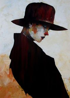 Bruce Holwerda - love hats for visual interest with space in portraits.