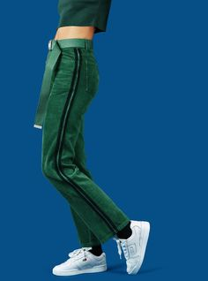 UNIF | Corey Pants - Green/Black