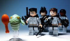 LEGO Ghostbusters! They're making it! Not like this but they are still making ghostbusters! So excited!