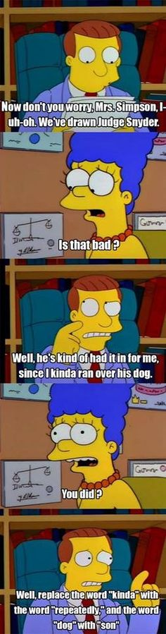 Hilarious Lawyer Dog Memes You Need to See From The Simpsons Quotes/Memes on Facebook