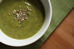 Split Pea, Fennel and Spinach Soup. Check it out @ How to Ice a Cake!