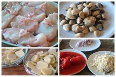 Suquet de rape con almejas – Las mejores recetas de Huga Bacalhau Recipes, Garlic, Stuffed Mushrooms, Vegetables, Food, Clams, Easy Food Recipes, Tasty Food Recipes, One Pot Dinners