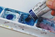Watercolor Palette Basics on http://www.artistsnetwork.com
