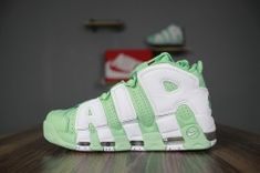 c5829fa0f4d7d Most popular Nike More Uptempo Premium green white men's/women's running  shoes 917593-300
