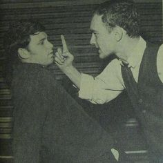 1963 Fall - Jim Morrison as Gus in The Dumbwaiter, a play by Harold Pinter. Morrison's Junior year at Florida State University (FSU).