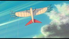 SI ALZA IL VENTO - Clip - Il primo aeroplano Wind Rises, Howls Moving Castle, Hayao Miyazaki, Studio Ghibli, Wind Turbine, Transportation, Japanese, Blue, Japanese Language