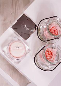 Diorskin Nude Rose Powder | بودرة ديور الوردية اللميعه لنضارة البشرة