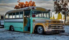 Rat rod school bus..