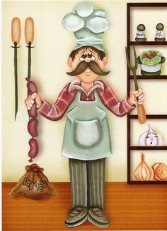 chef.quenalbertini: Chef illustration