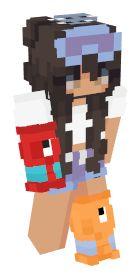Skins de Minecraft: Populares | NameMC Minecraft Skins Female, Minecraft Skins Aesthetic, Minecraft Girl Skins, Minecraft T, Minecraft Blueprints, Cool Minecraft Houses, Skin Aesthetics, Minecraft Interior Design, Mc Skins