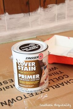 Tips for painting wood paneling: oil based primer will work great for covering this paneling and preparing it for latex paint.