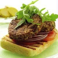 Sign-in Spicy Mexican Bean Burger *Daniel Fast Approved* Veggie Recipes, Cooking Recipes, Healthy Recipes, What's Cooking, Eating Fast, Healthy Eating, Healthy Food, Clean Eating, Yummy Food