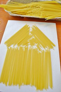 pasta craft for kids