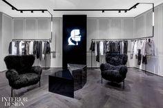 Lighting design-Karl Lagerfeld, Paris