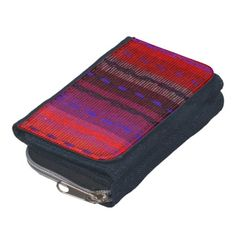 Woven Bands Wallet
