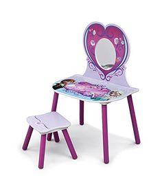 Kids' Vanities - Disney Frozen Vanity Set with Mirror -- Visit the image link more details.