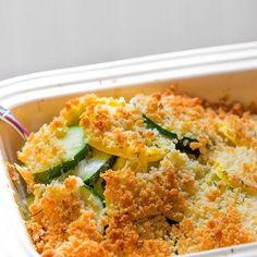 """Summer Squash and Zucchini Gratin with Herbed Breadcrumb Topping.  I'm not tired of my zucchini yet! #zucchini #squash #urbangarden #cheese #garden #gardening #botanicalinterests #huffposttaste #EEEEEats #epicurious #dceats"" - macksupper (Instagram)"