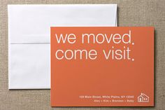 Moving/Moved/New Address Announcement
