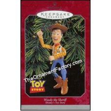 1998 Woody the Sheriff, Disneys Toy Story | Hallmark Keepsake Ornaments | The Ornament Factory