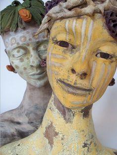 Marie Gibbons ceramic sculptures