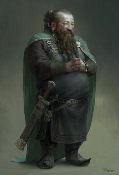 Old dwarf by FLOWERZZXU