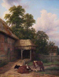 Whitnash, Warwickshire, by Thomas Baker ~ 1861