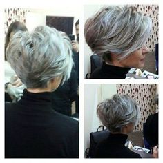 Best Pixie Haircuts for Over 50 2018 2019 The UnderCut Short Grey Hair Haircuts Pixie UnderCut Long Pixie Hairstyles, Best Short Haircuts, Trending Hairstyles, Short Hairstyles For Women, Haircut Short, Popular Haircuts, Haircut Bob, Layered Hairstyles, Hairstyles 2018