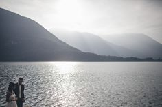 Italian Lakes Destination Wedding - wow what a view